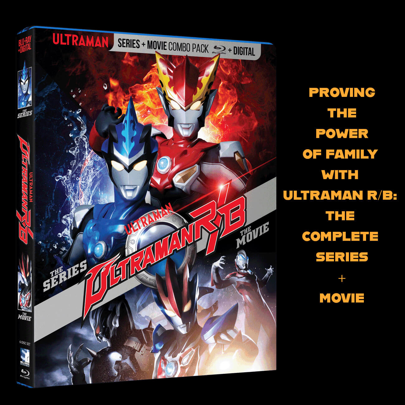 PROVING THE POWER OF FAMILY WITH  ULTRAMAN R/B:THE COMPLETE SERIES+MOVIE