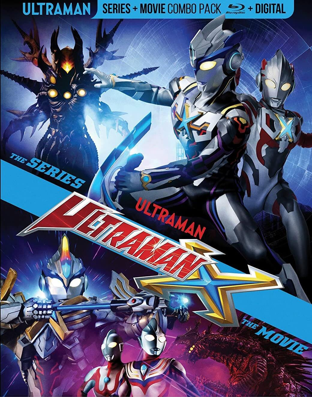 FIRE UP YOUR SPARK DOLL!  ULTRAMAN X:THE COMPLETE SERIES + MOVIE ARRIVES