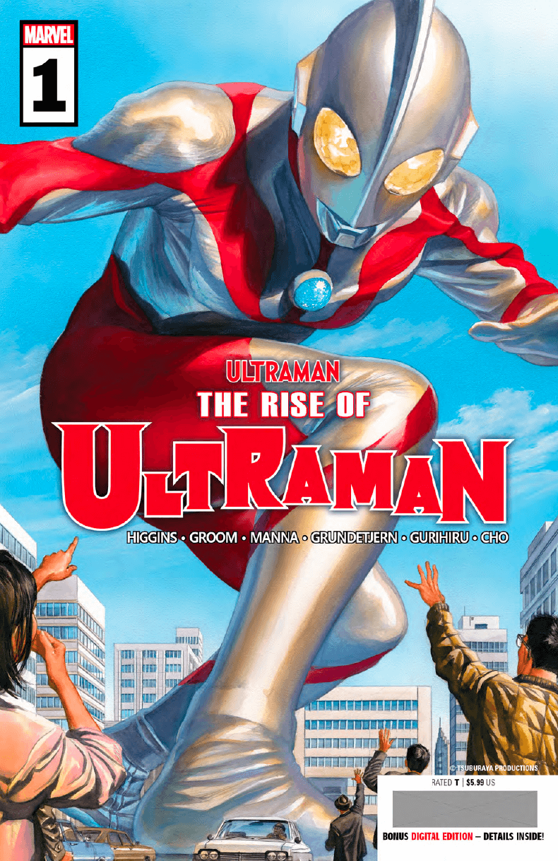 MARVEL'S THE RISE OF ULTRAMAN: WHAT WE KNOW SO FAR…