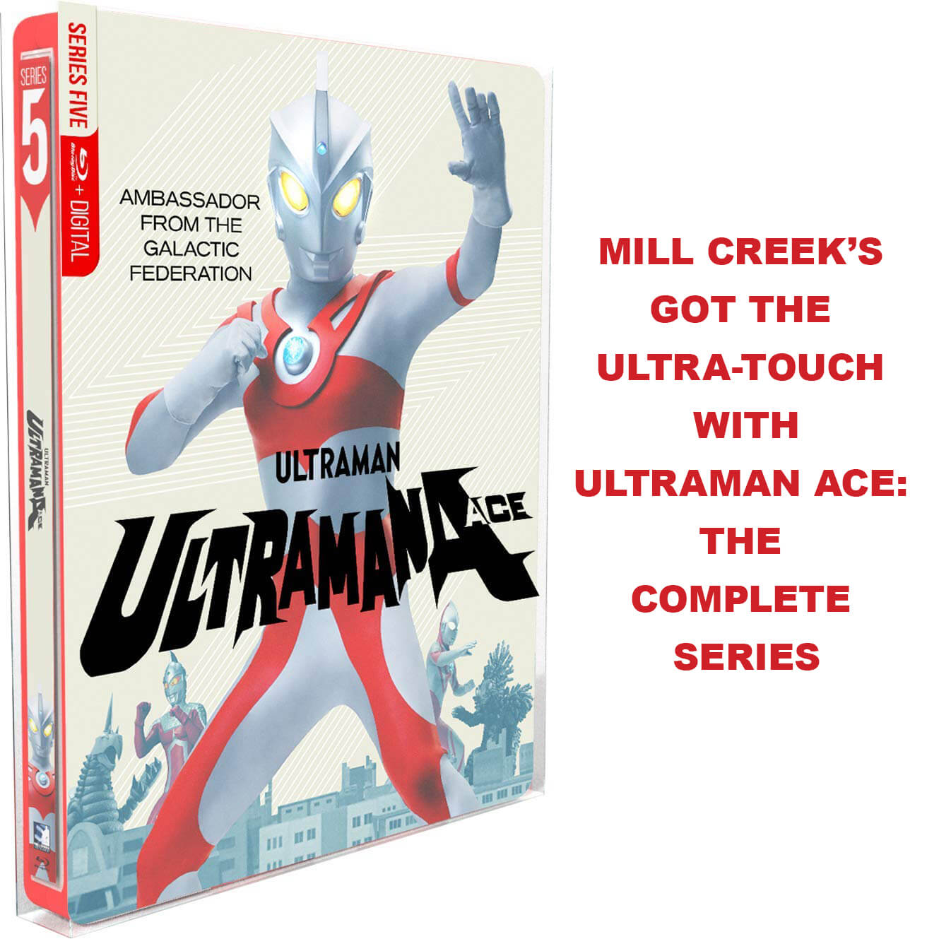 MILL CREEK'S GOT THE ULTRA-TOUCH WITHULTRAMAN ACE: THE COMPLETE SERIES