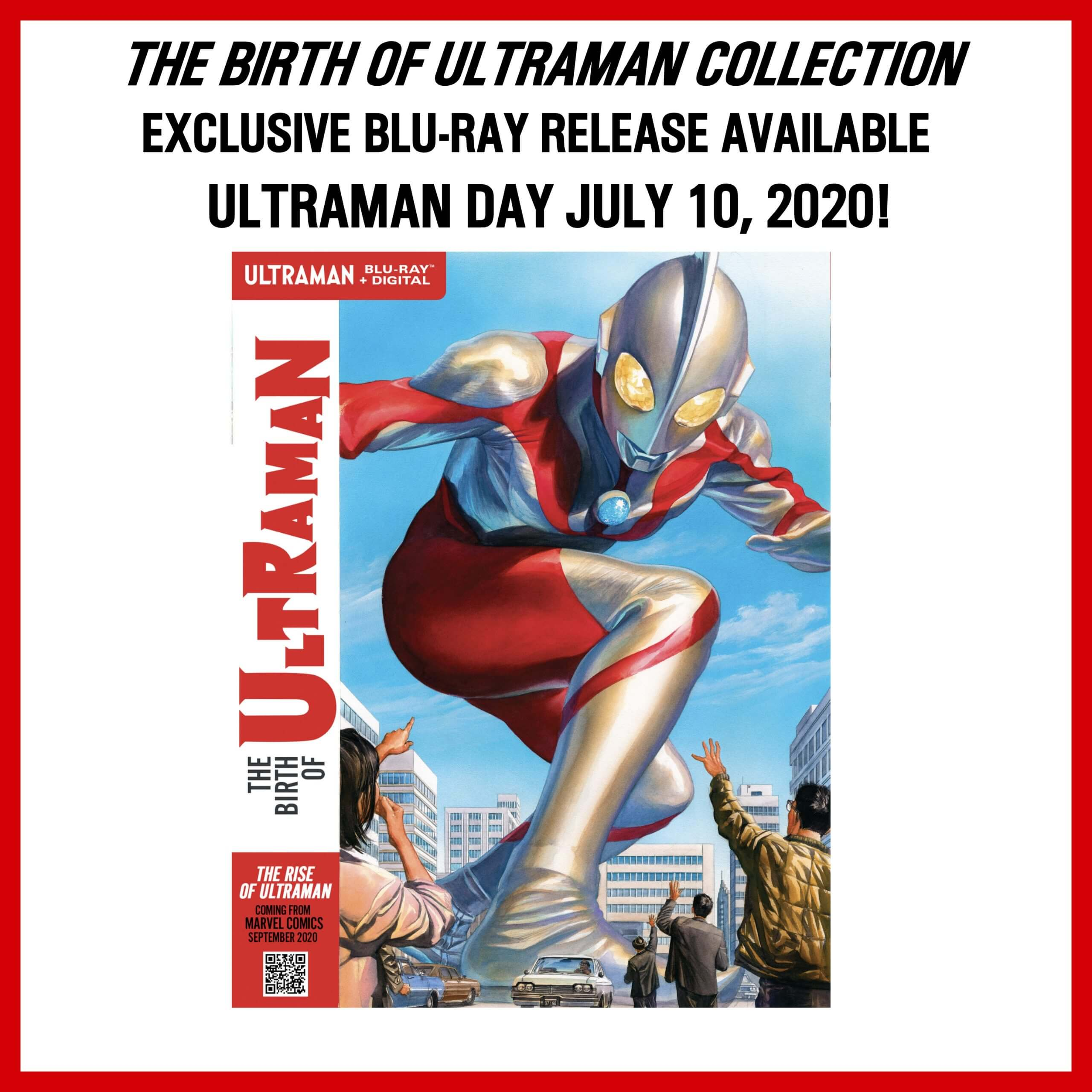 THE BIRTH OF ULTRAMAN COLLECTION EXCLUSIVE BLU-RAY RELEASE  FOR ULTRAMAN DAY JULY 10, 2020!