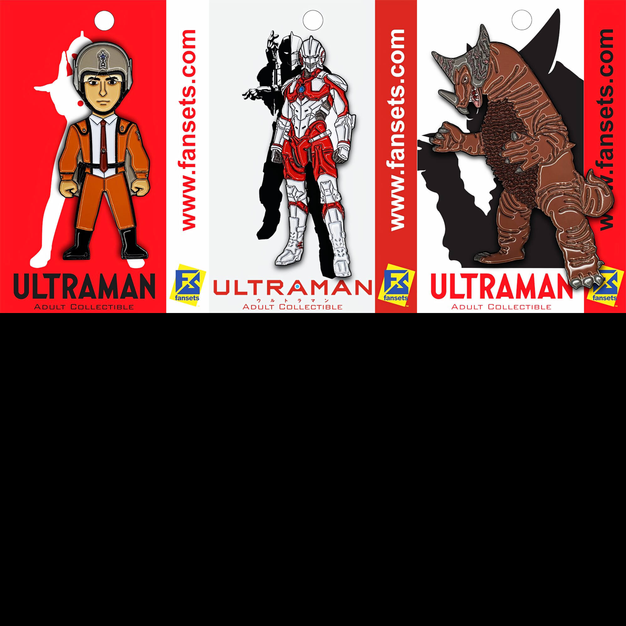FANSETS BRINGS TOKUSATSU TO AMERICAN LAPELS WITH CLASSIC AND ANIME ULTRAMAN PINS