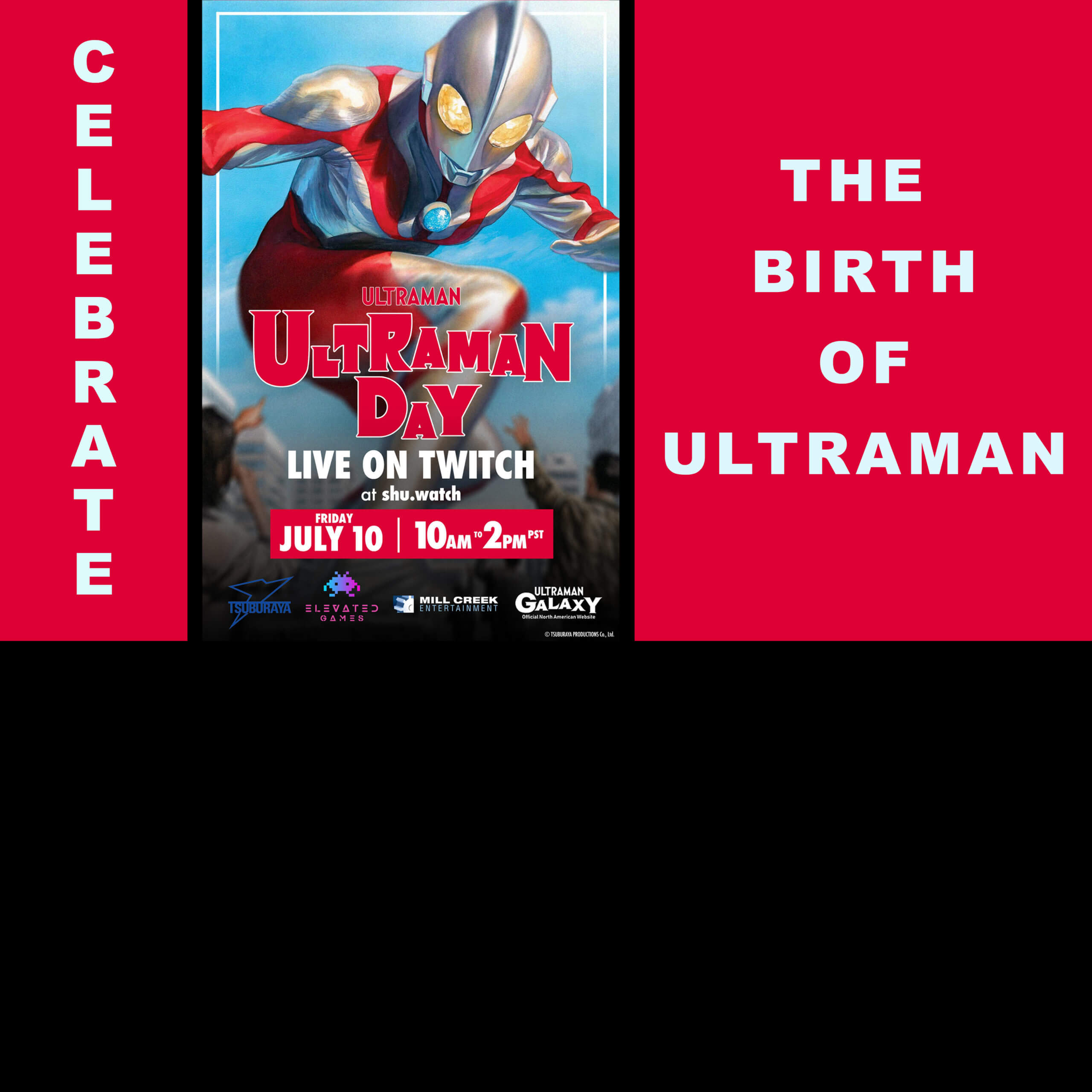 ULTRAMAN DAY TO BE FILLED WITH BIG ANNOUNCEMENTSJULY 10, 2020