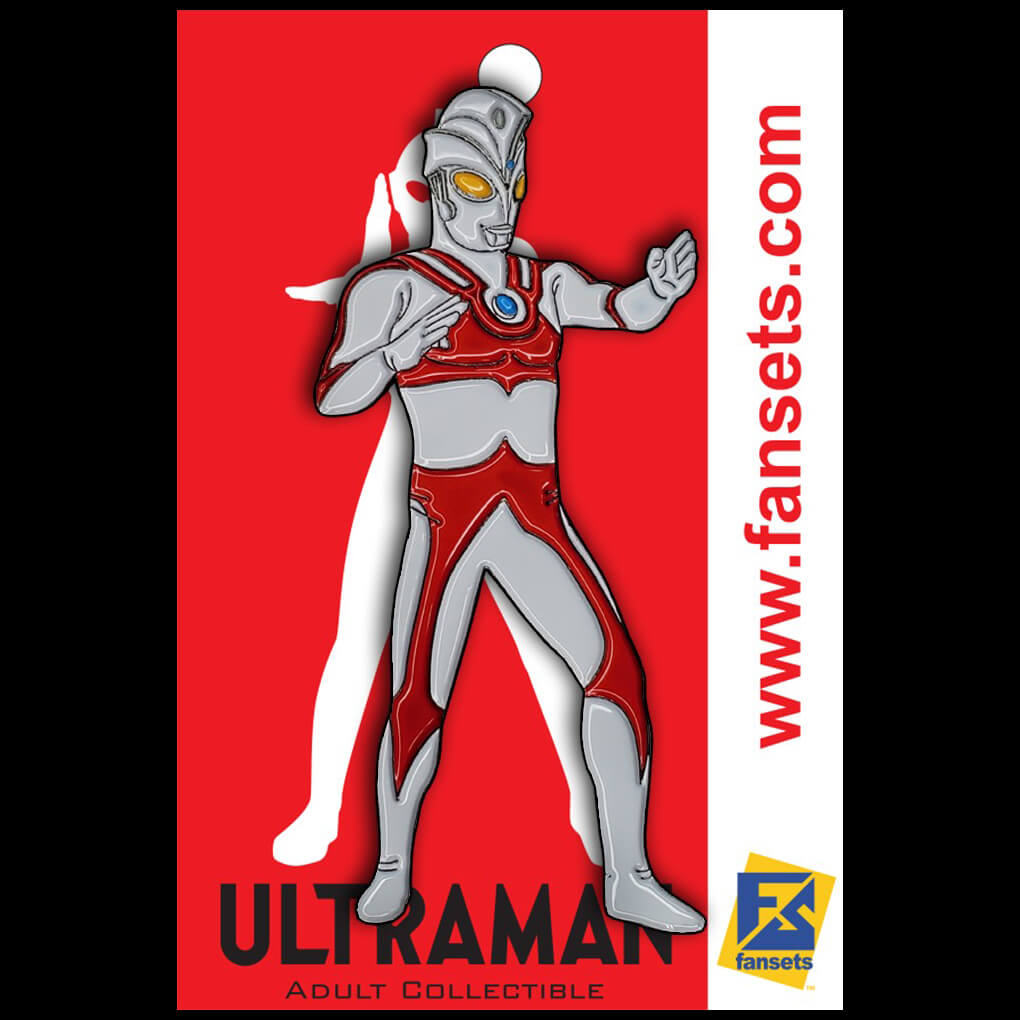 ULTRAMAN ACE FANSETS COLLECTOR PIN DEBUTING JUNE 15TH