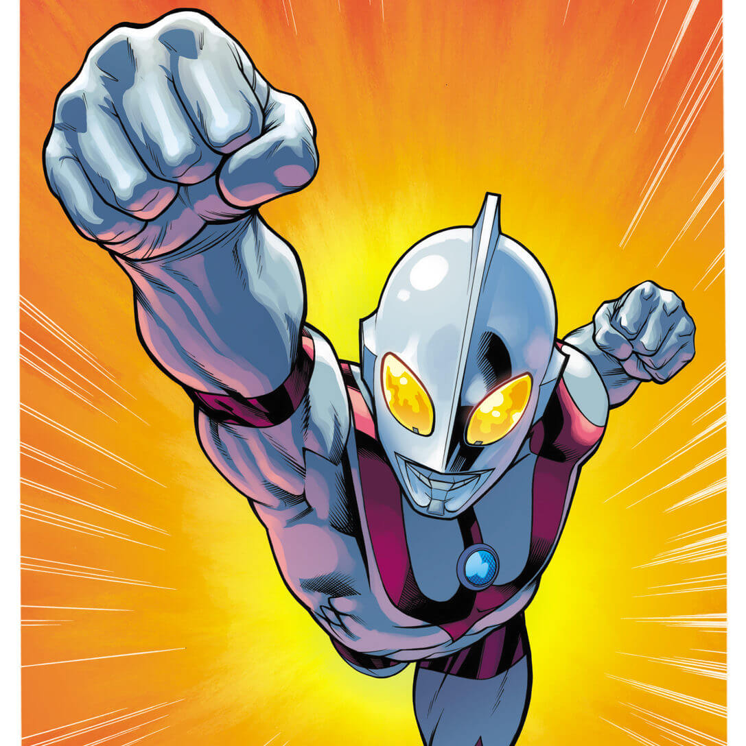 ULTRAMAN'S UPCOMING MARVEL COMICS ADVENTURES COVER AND STORY DETAILS REVEALED