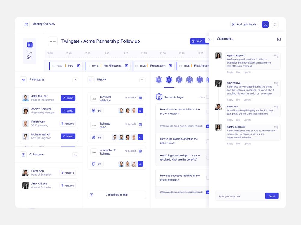 App screen demo