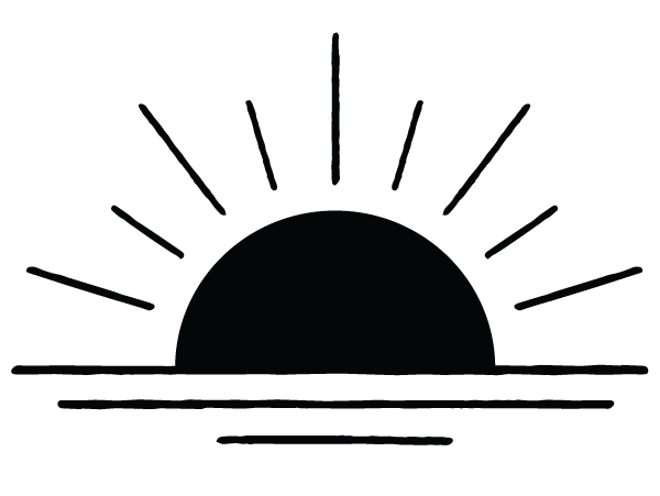 Calirosa Sun Ray Logo