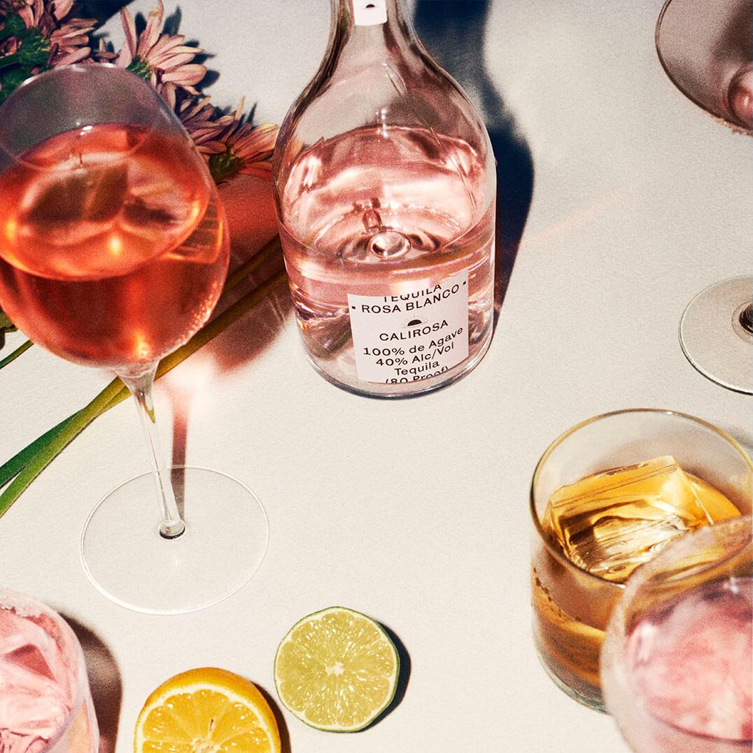 Calirosa Rosa Blanco Tequila