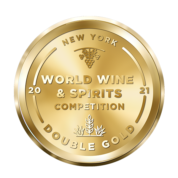 2021 Double Gold Best In Class New York Wine & Spirits competition