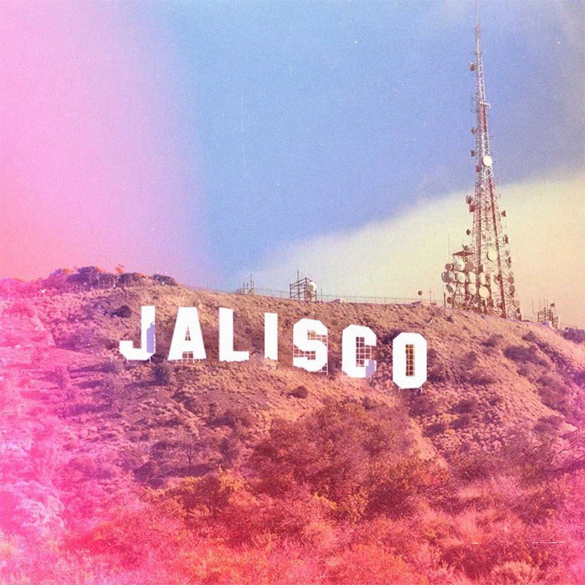 Jalisco sign on a hill