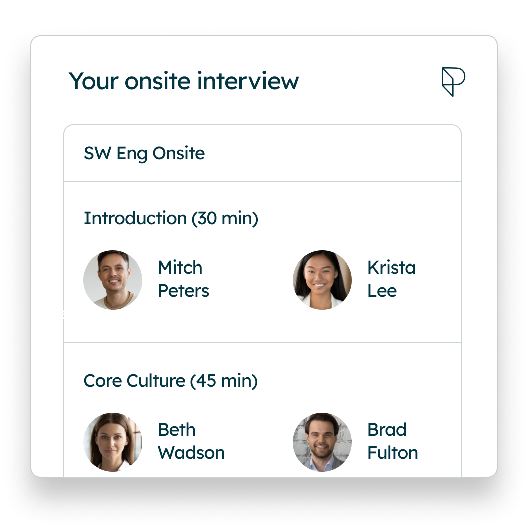 The best onsite interview experience.