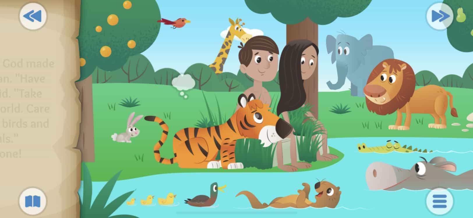 Bible App for Kids screenshot