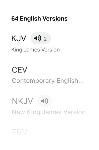 64 English Versions