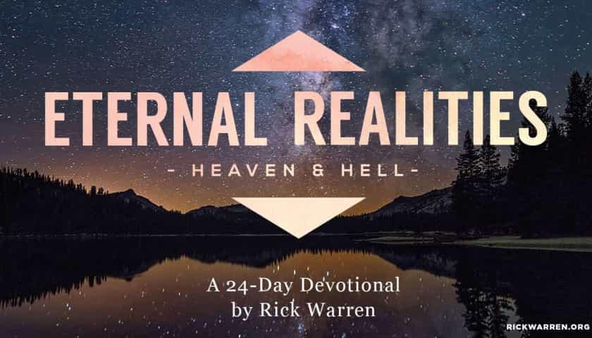 Bible plan: Eternal Realities
