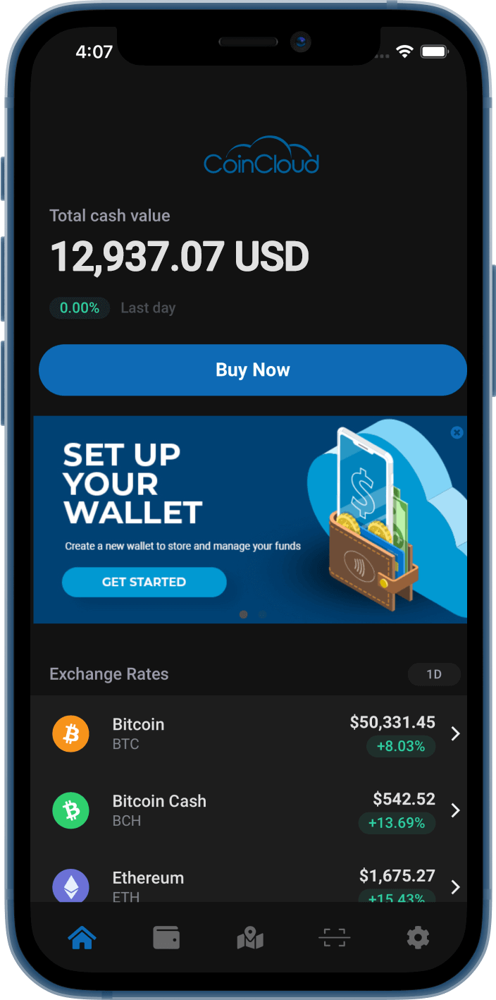 Coin Cloud Wallet free download ios android
