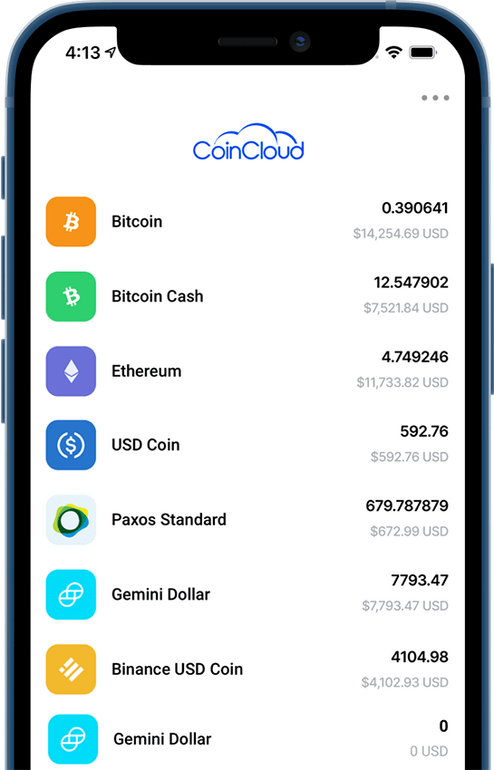coin cloud wallet app