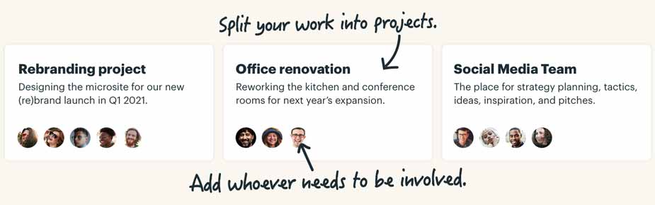 How Basecamp works, what it's like to organize your projects & teams in one  place