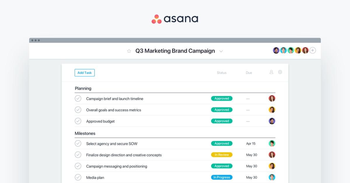 Asana Work Management - Features, Uses & Product • Asana