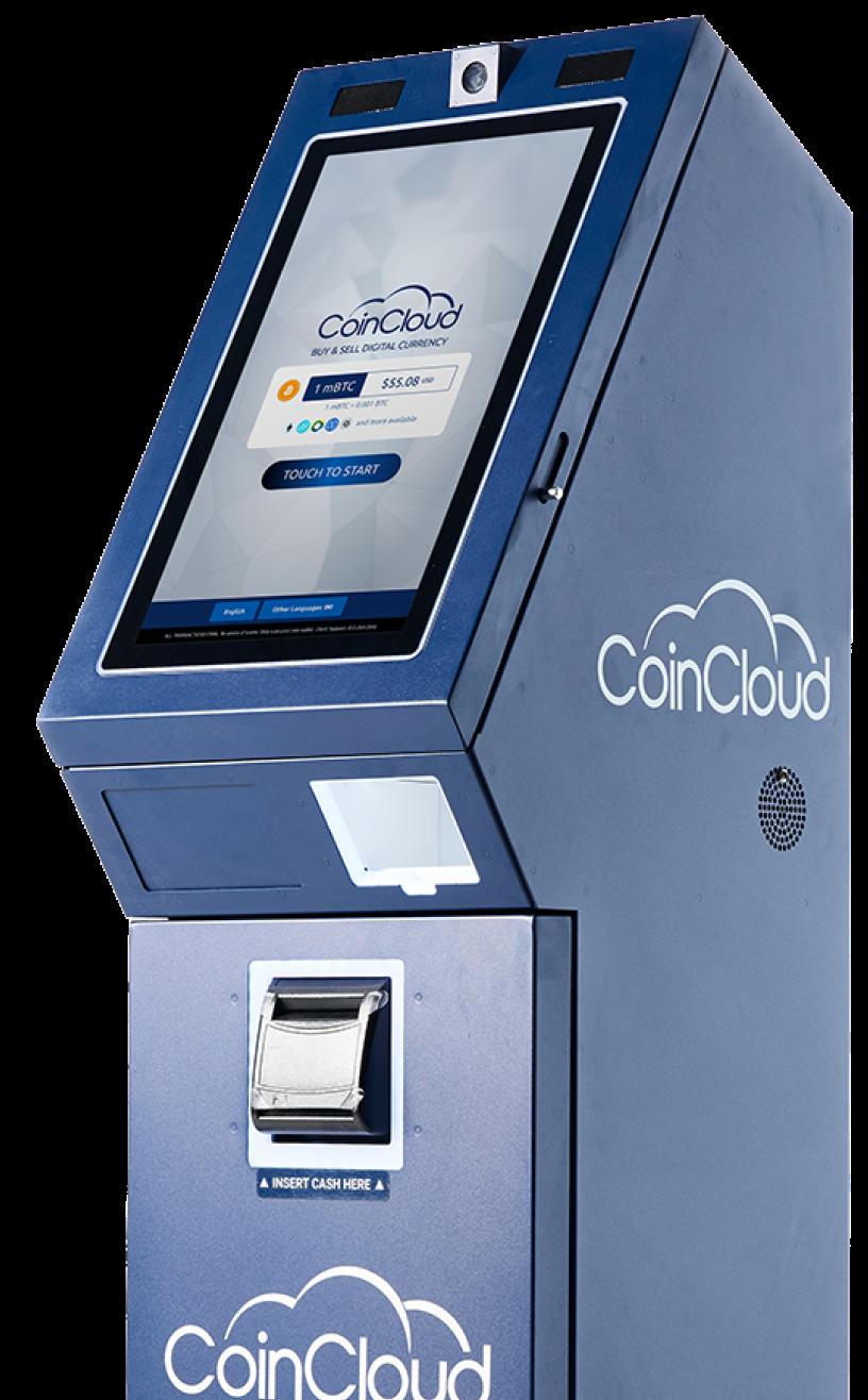 Coin Cloud kiosk facing left
