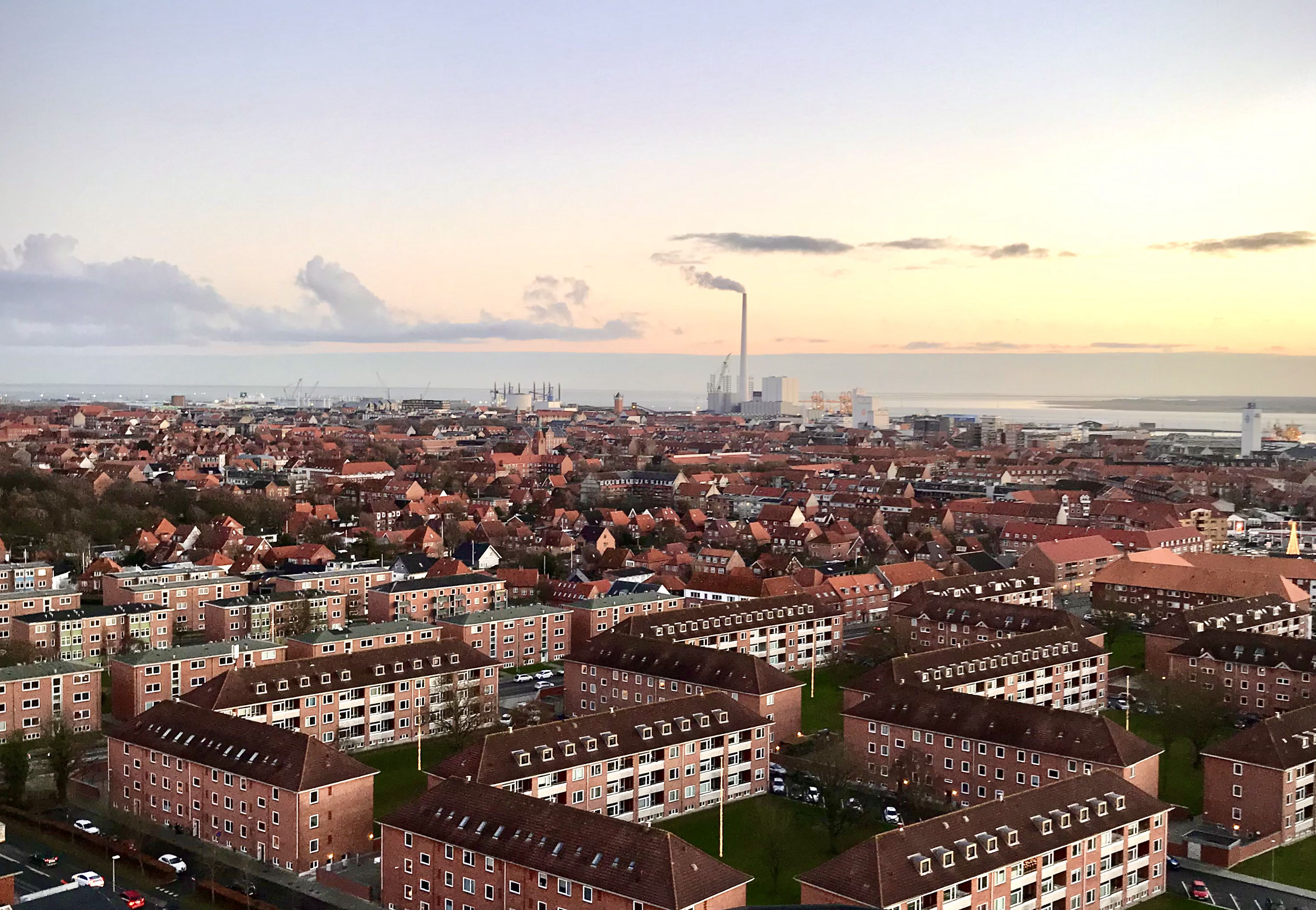 The View over Esbjerg City