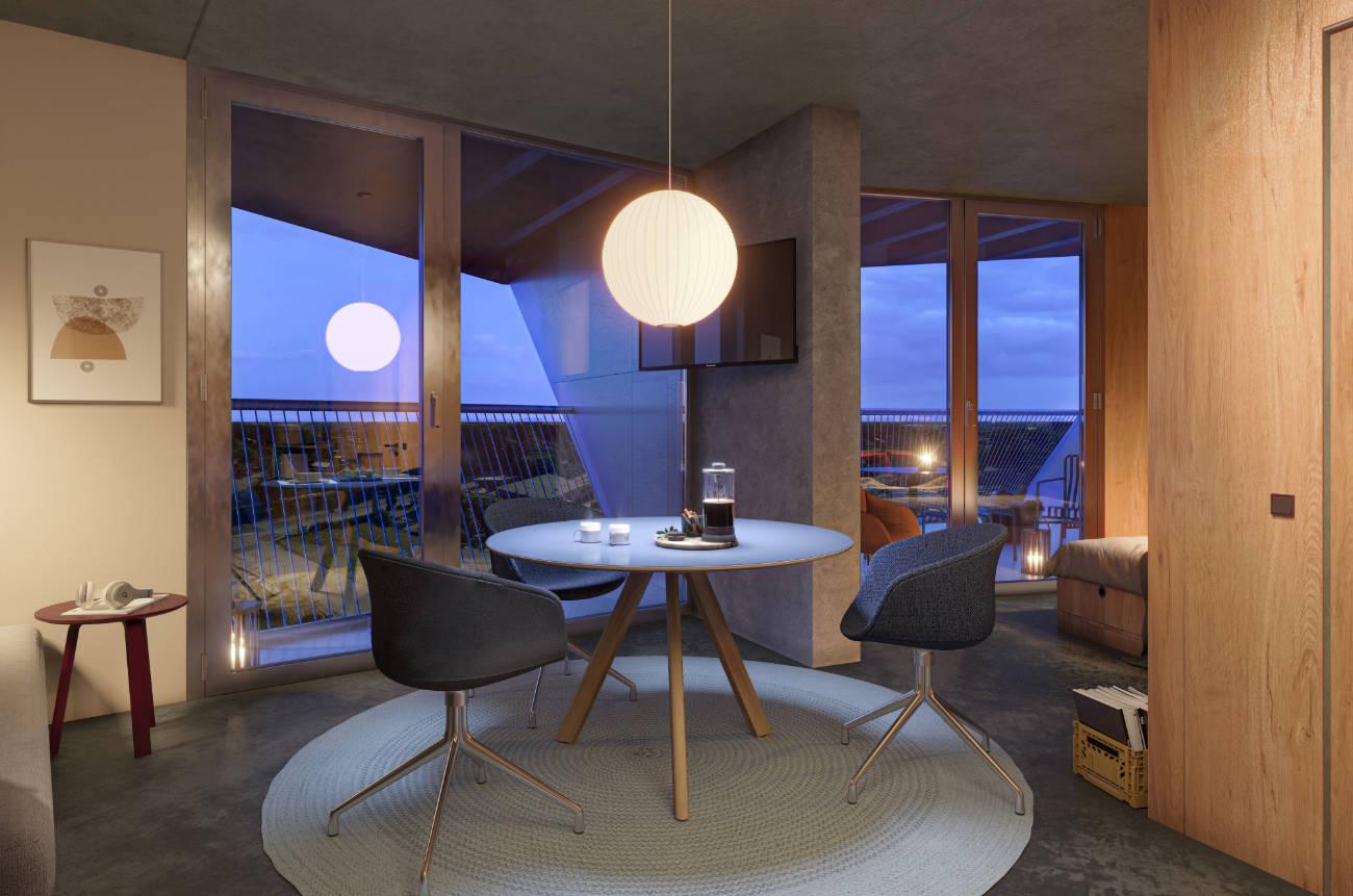 Fantastic living room area
