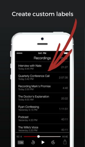 custom-recording-labels