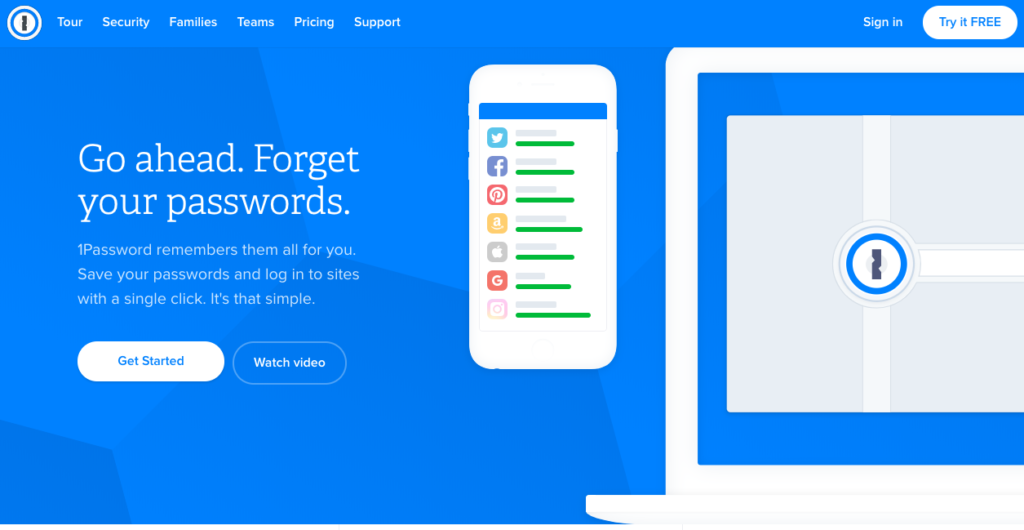best apps for young professionals starting career 1password