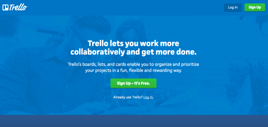 best apps for young professionals starting career trello