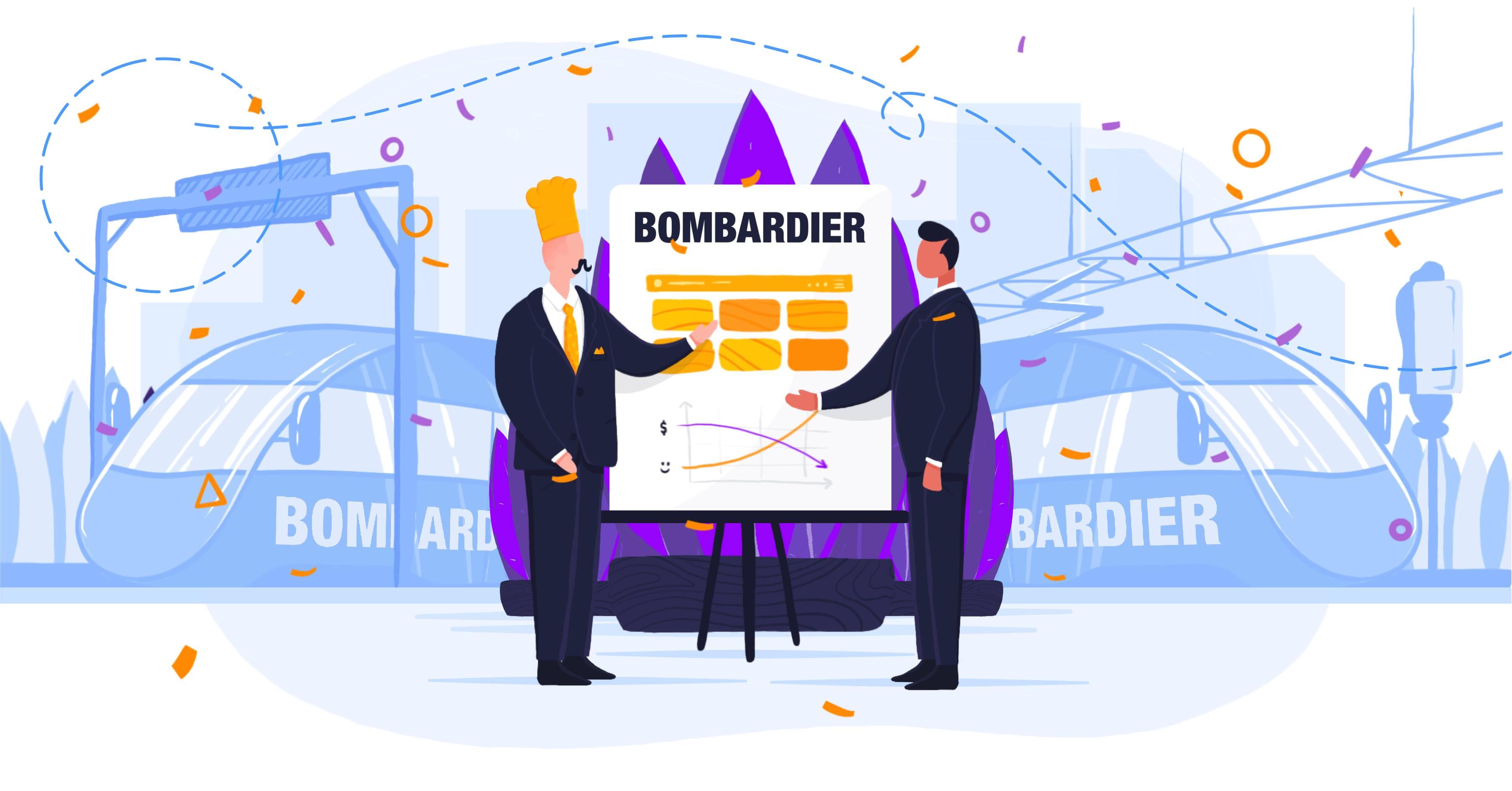 Historie klientow smartlunch: Bombardier. Wirtualna kantyna karmi setki pracowników
