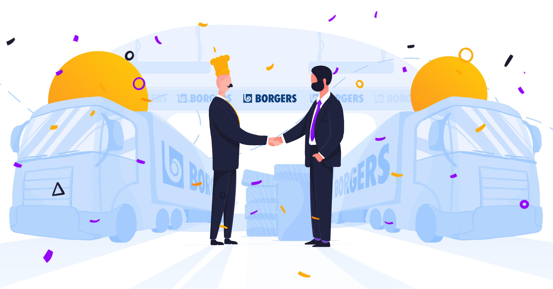 Historie klientow smartlunch: Borgers. SmartLunch rośnie razem z firmą