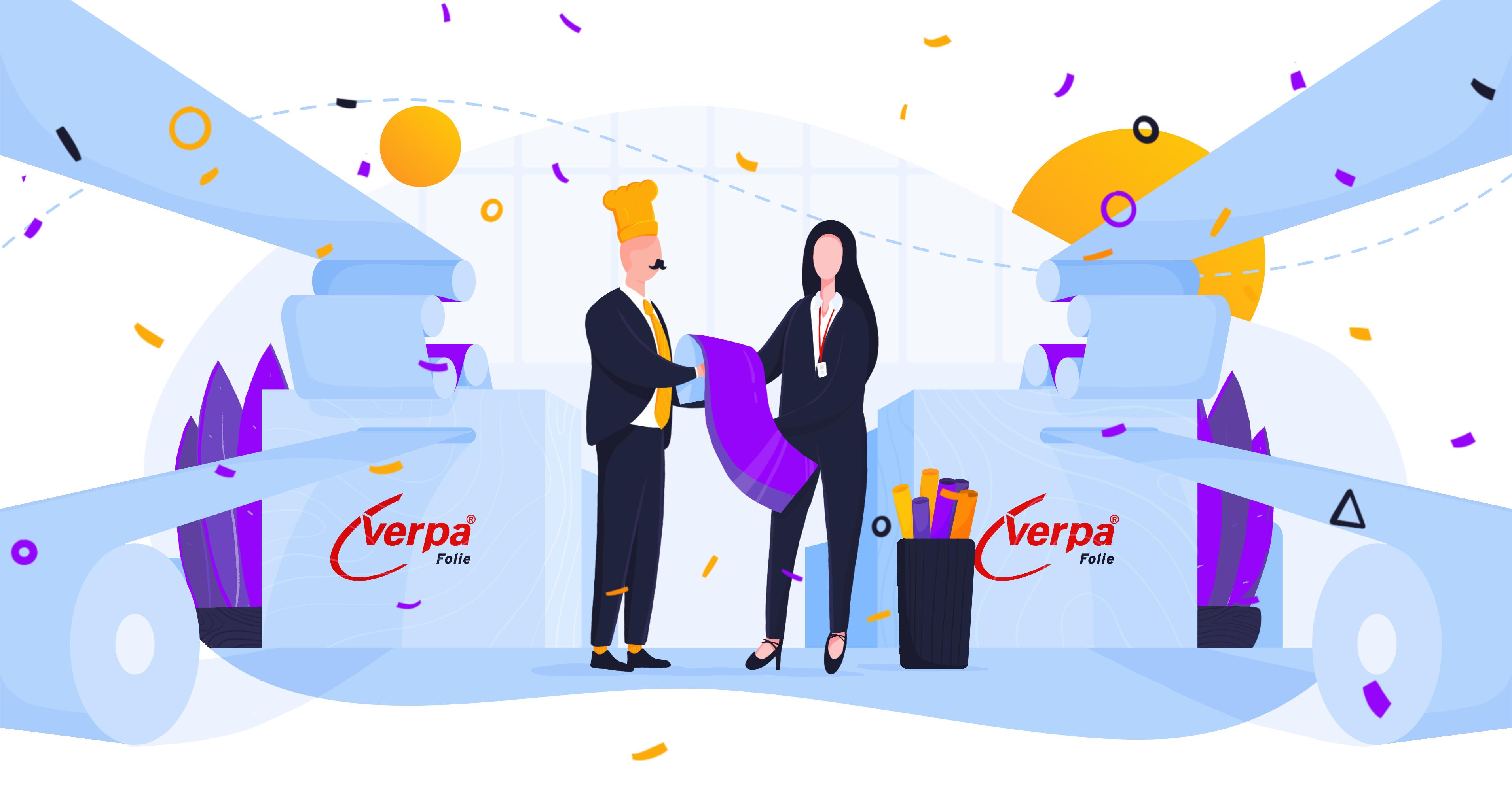 Historie klientow smartlunch: Verpa Folie. SmartLunch jako atrakcyjny benefit dla firmy poza miastem