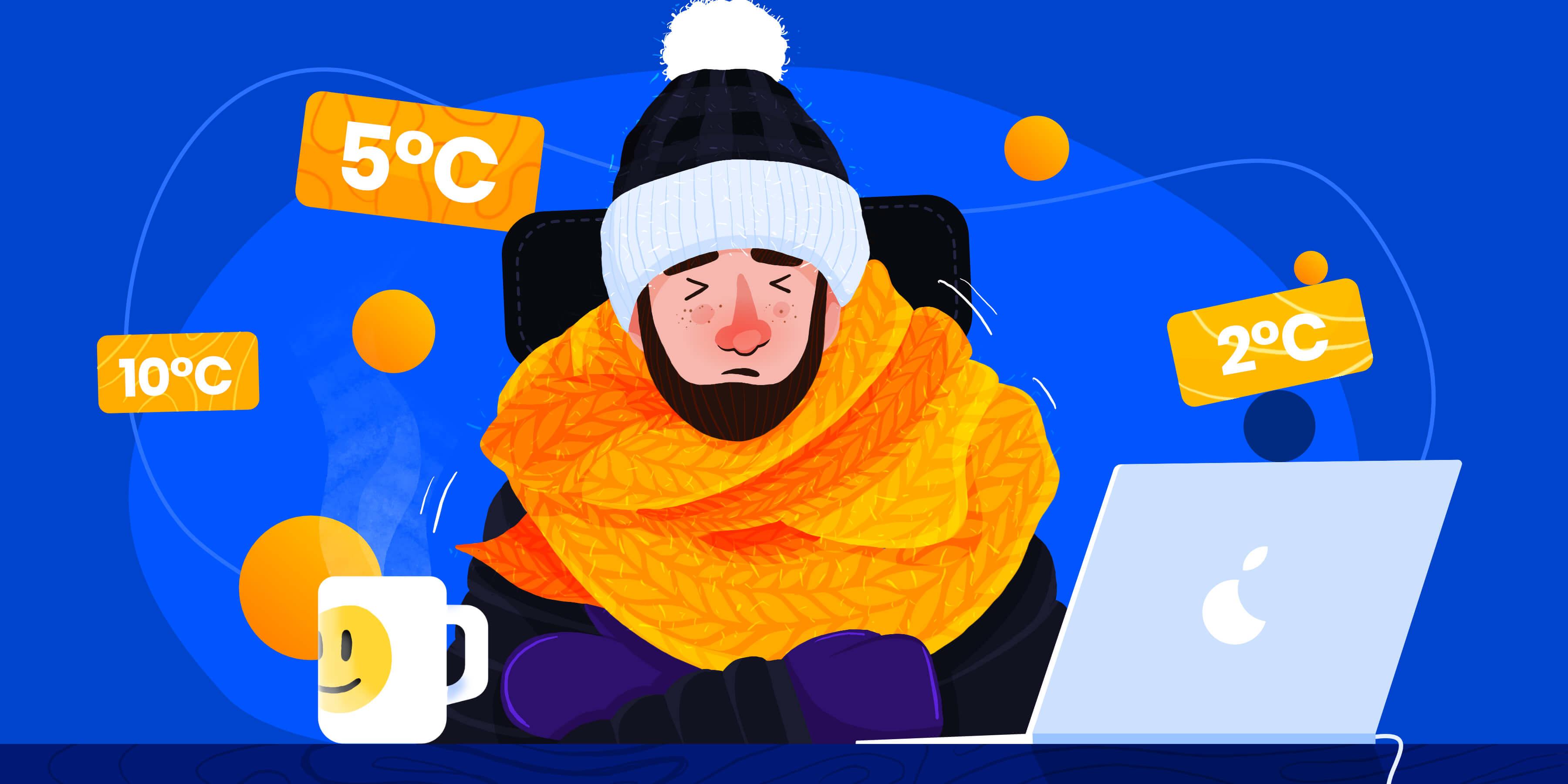 Minimalna temperatura w miejscu pracy