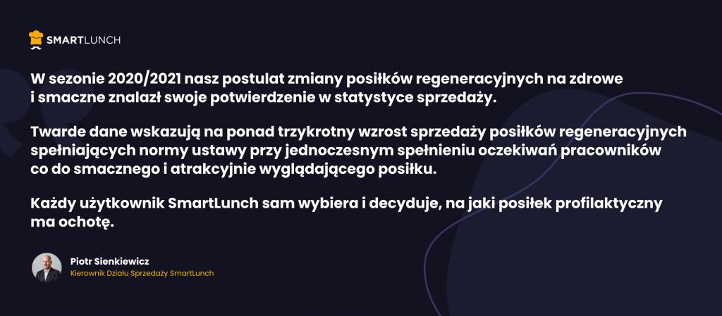 Piotr Sienkiewicz Smart Lunch