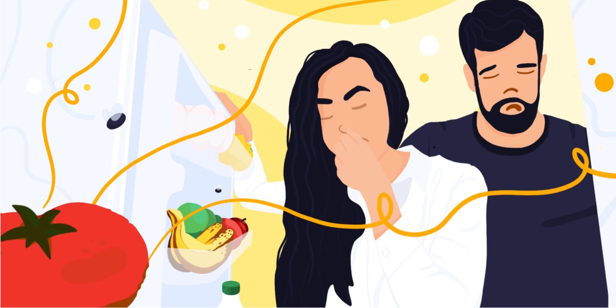 Resztki jedzeniowe w firmowej lodówce – jak sobie z tym radzić?