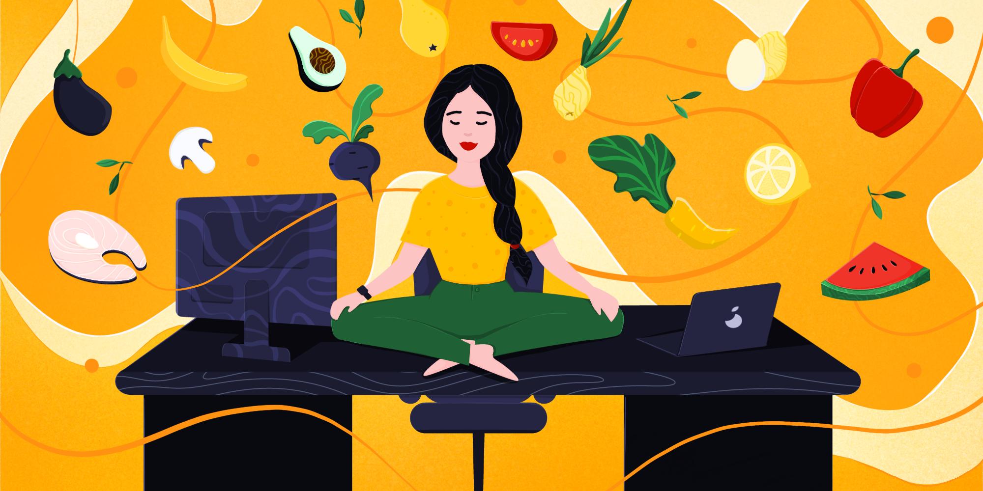 Dieta w pracy – co jeść, by obniżać stres?
