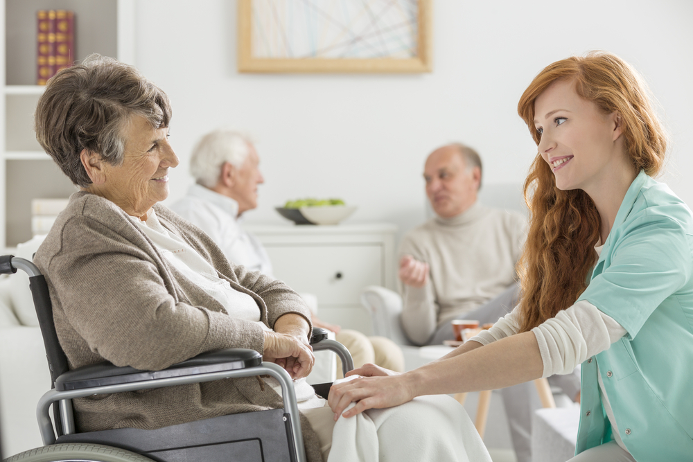 A picture of assisted living