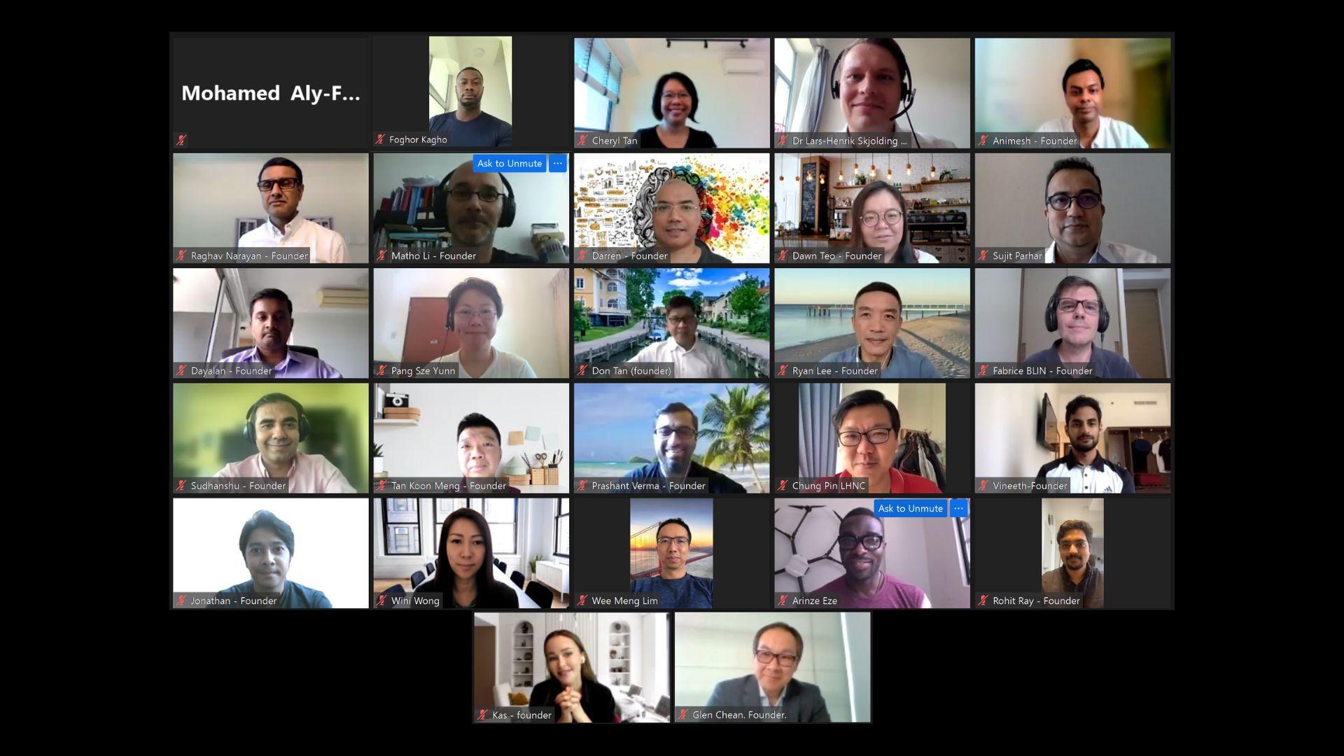 XNode支持的新创工坊计划SDTA22启动,27位海外创始人开始加速之旅