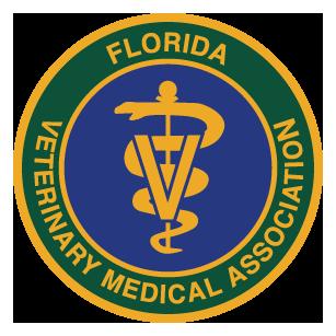 Florida Veterinary Medical Association logo.
