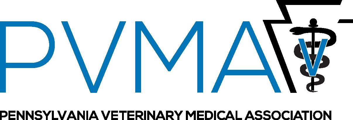 Pennsylvania Veterinary Medical Association logo.