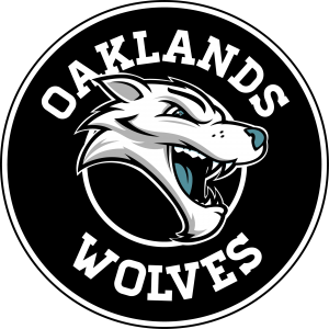 Oaklands Wolves basketball team logo