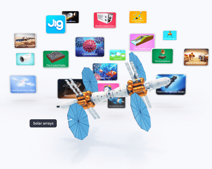A world of 3D knowledge at your fingertips