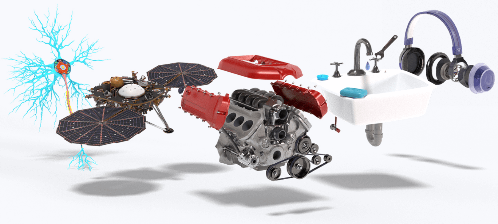 Learn how to make, fix, create and present anything in 3D. Built for augmented reality.