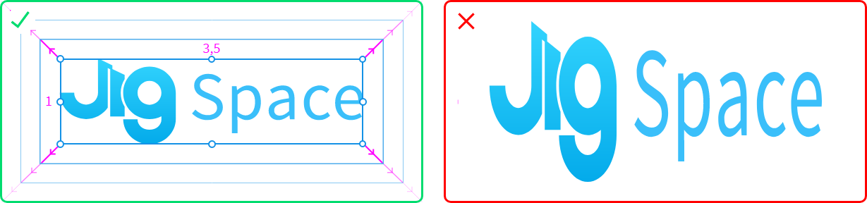 An image showing logo original aspect ratio should be maintained.