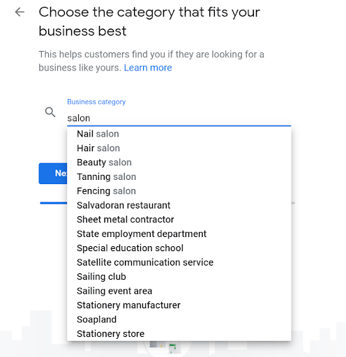 how to add categories in order to drive more customers to your salon with google business