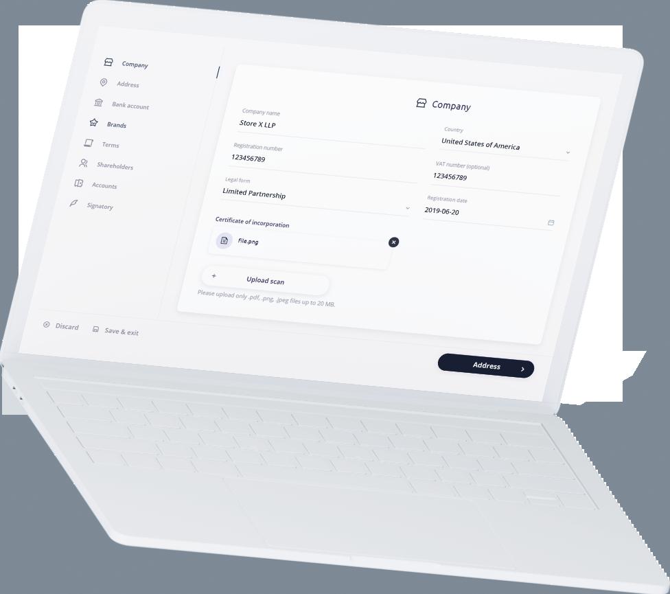 white-laptop-bridge-payments-setup