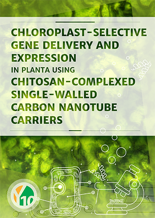 Chloroplast-selective gene delivery and expression in planta using chitosan-complexed single-walled carbon nanotube carriers