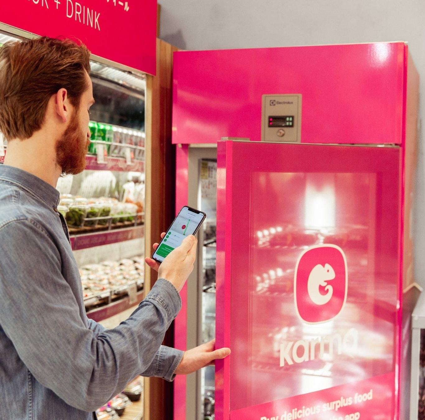Karma battles food waste with smart fridges