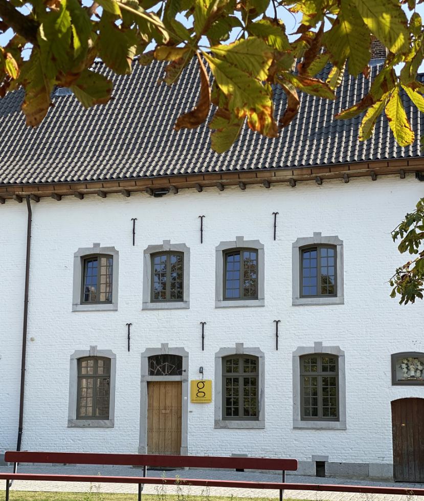 Buitenkant kantoren Gilen Real Estate Begijnhof Sint-Truiden