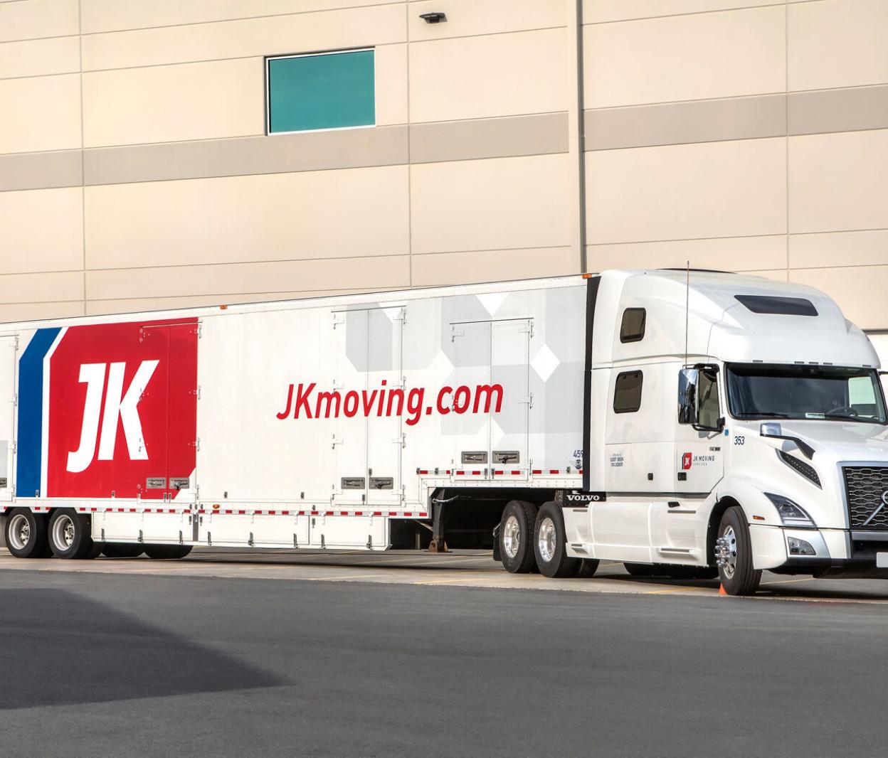JK Moving truck