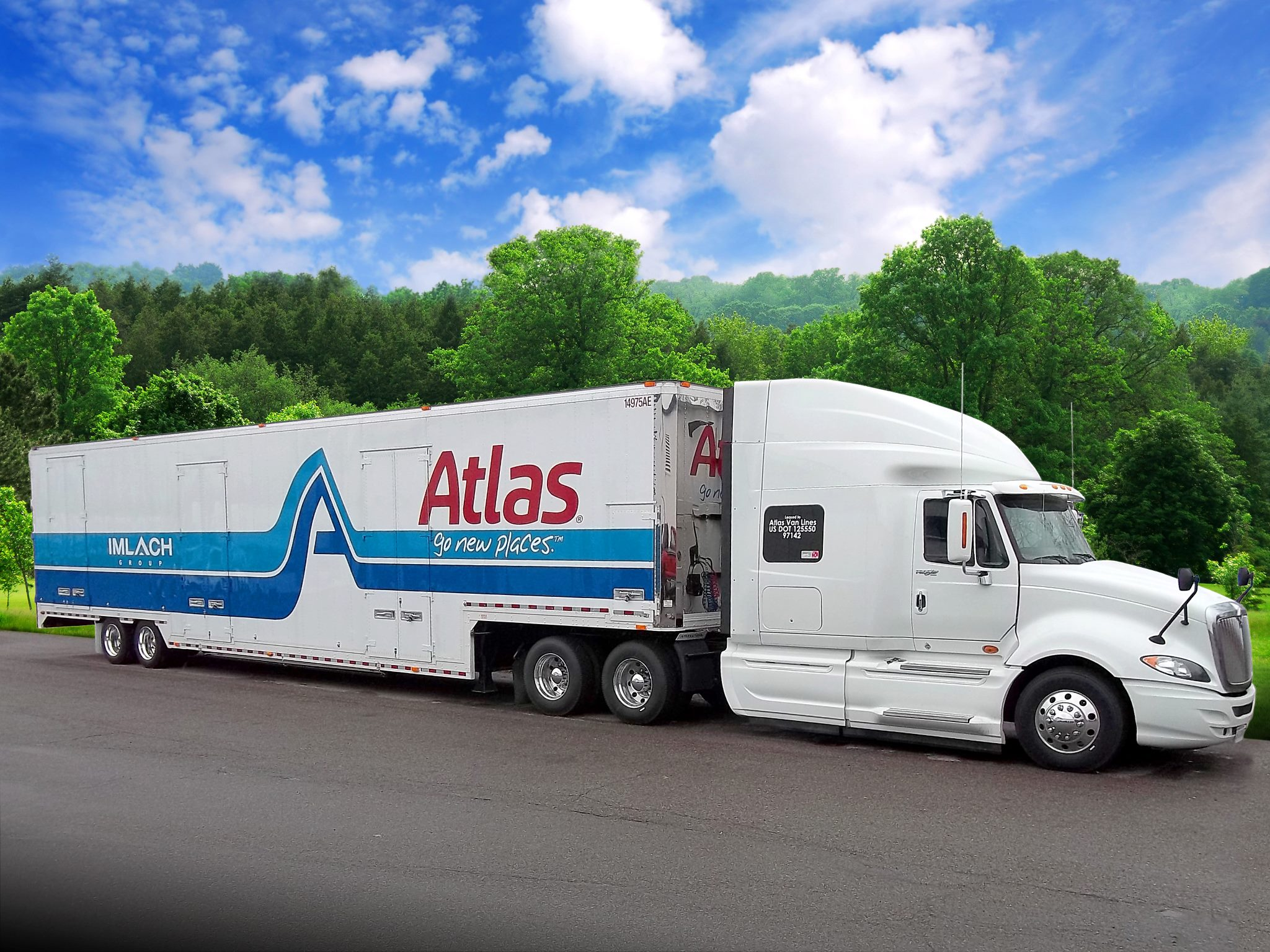 Alexander's Moving Services Truck